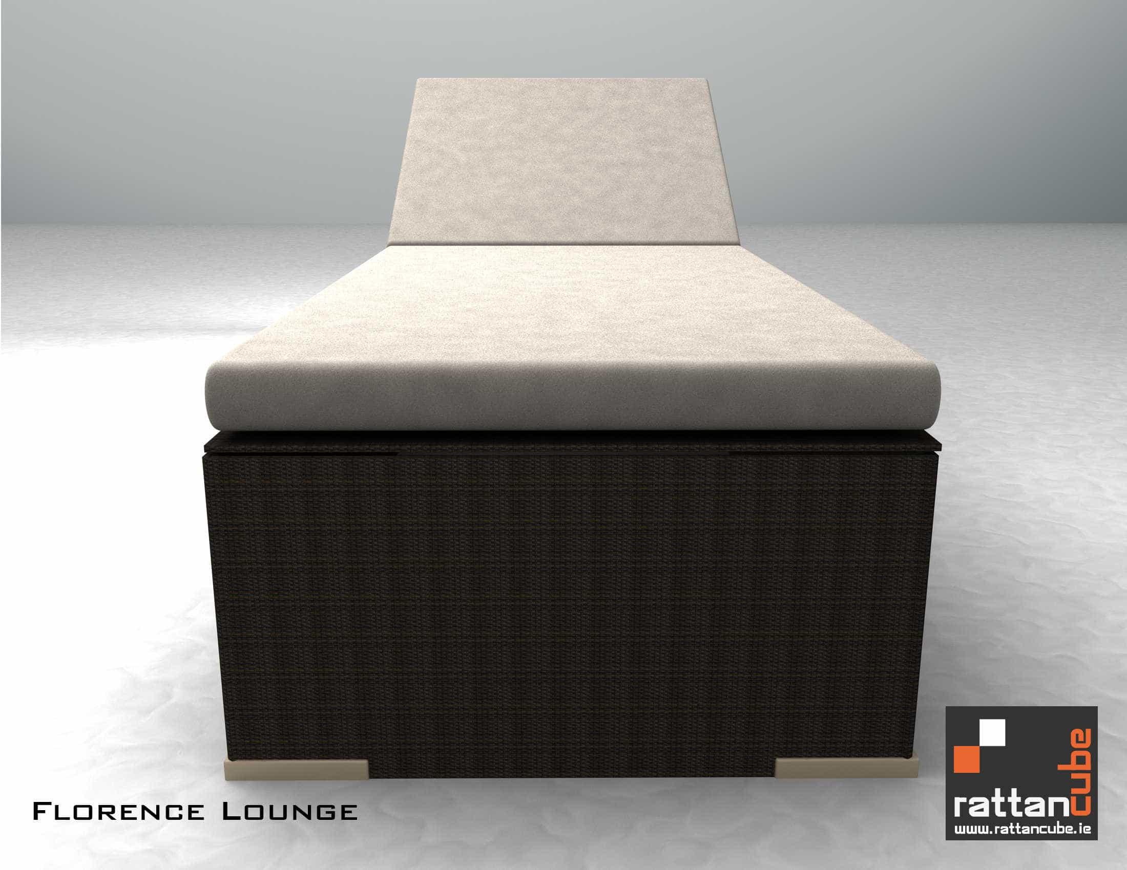 Florence Lounger For Your Garden Or Patio Area Sleek
