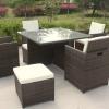 8 seater rattan garden furniture.