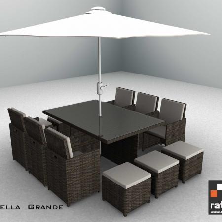 12 Seater Marbella Grande. Garden Furniture Ireland  Outdoor Furniture Ireland  Rattan