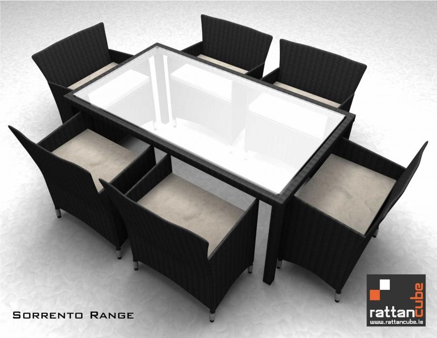 6 Seater Sorrento Range Garden Furniture Ireland