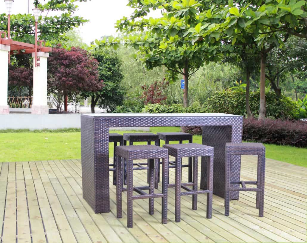 is rattan cube furniture