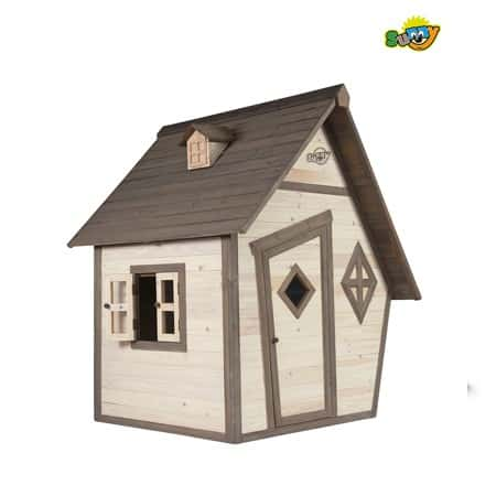 sunny playhouse wooden cabin
