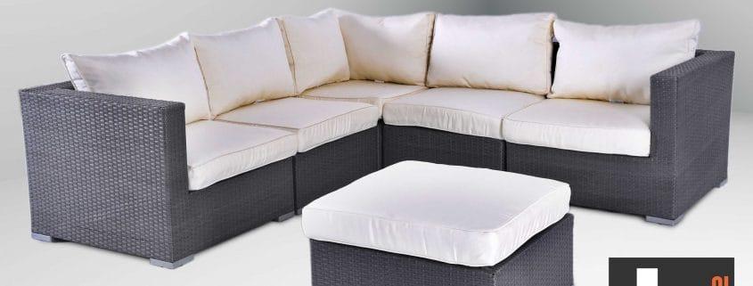 Vienna Corner Sofa Now In Grey Rattan. Vienna Corner Sofa Now In Grey Rattan    Garden Furniture Ireland