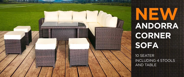 10 seater rattan corner sofa dublin ireland